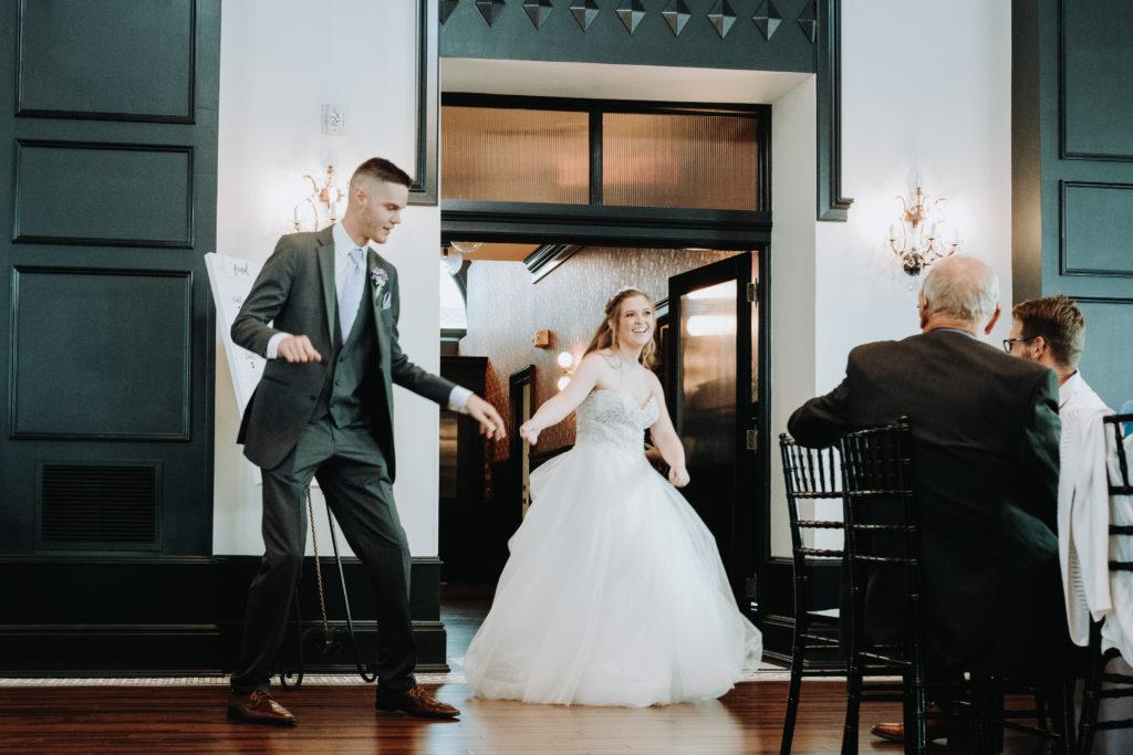 Wedding Day Grand Entrance